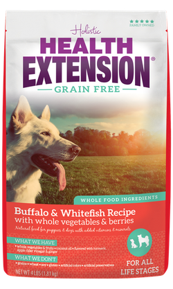 Grain Free Buffalo & Whitefish Recipe