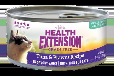 Grain Free Tuna & Prawns Recipe