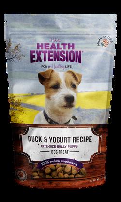 Grain Free Duck & Yogurt Bully Puffs