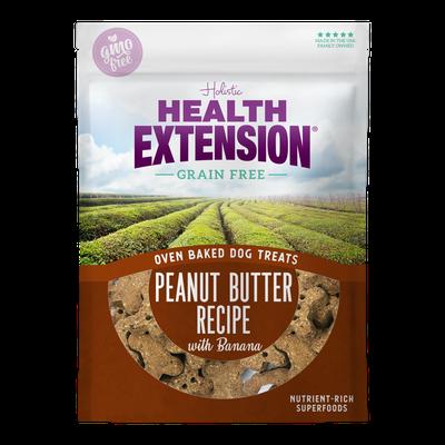 Oven Baked Grain Free Peanut Butter