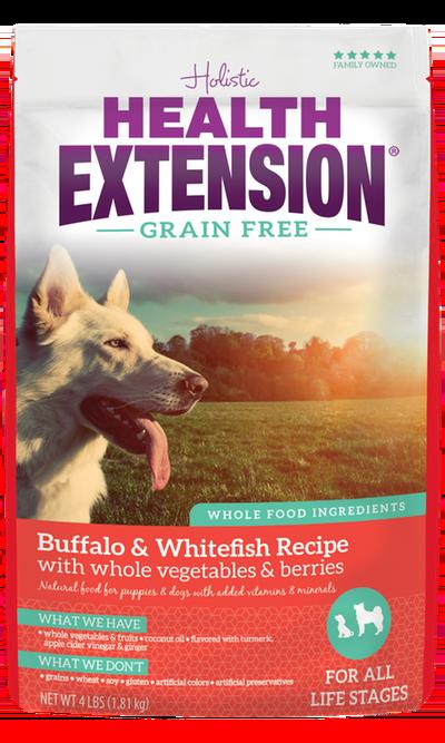 Grain Free Buffalo & Whitefish Recipe