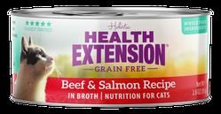 Grain Free Beef and Salmon Recipe