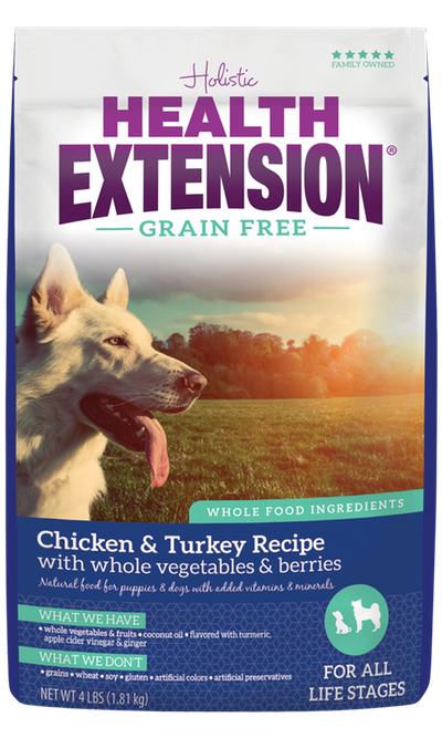 Grain Free Dry Dog Food Grain Free Chicken Turkey Recipe