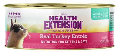 Grain Free Real Turkey Entree