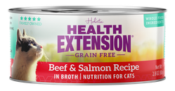Grain Free Beef and Salmon Recipe