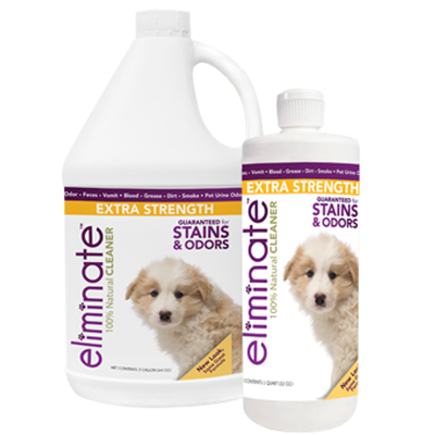 Eliminate Extra Strength Stain & Odor Cleaner
