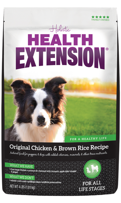 Dry Dog Food Original Chicken Brown Rice Recipe