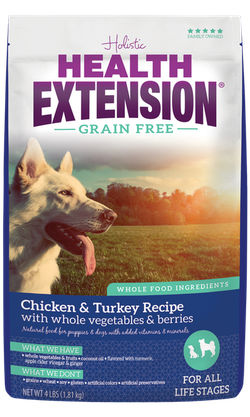 Grain Free Chicken & Turkey Recipe