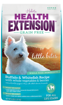 Grain Free Buffalo & Whitefish Recipe Little Bites