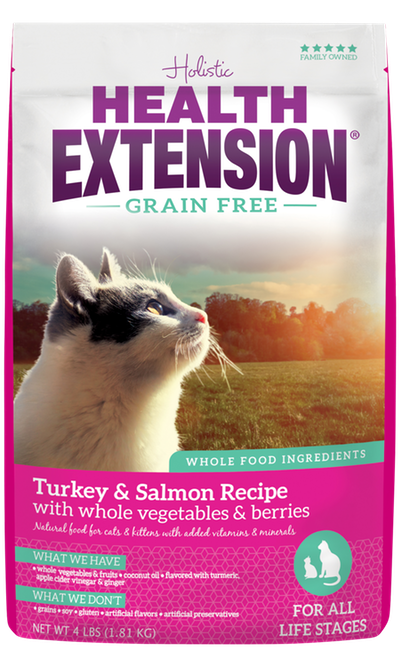 Grain Free Turkey & Salmon Recipe
