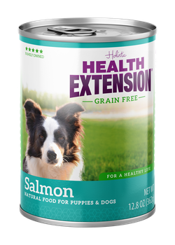 Health Extension G95% Salmon Dog Food Canned dog food, new can packaging