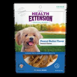Peanut Butter Flavor Dental Bones
