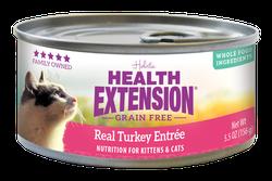 Grain Free Real Turkey Entree