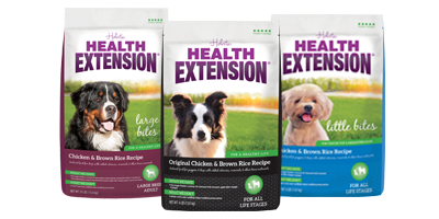 Dry Dog Food Health Extension